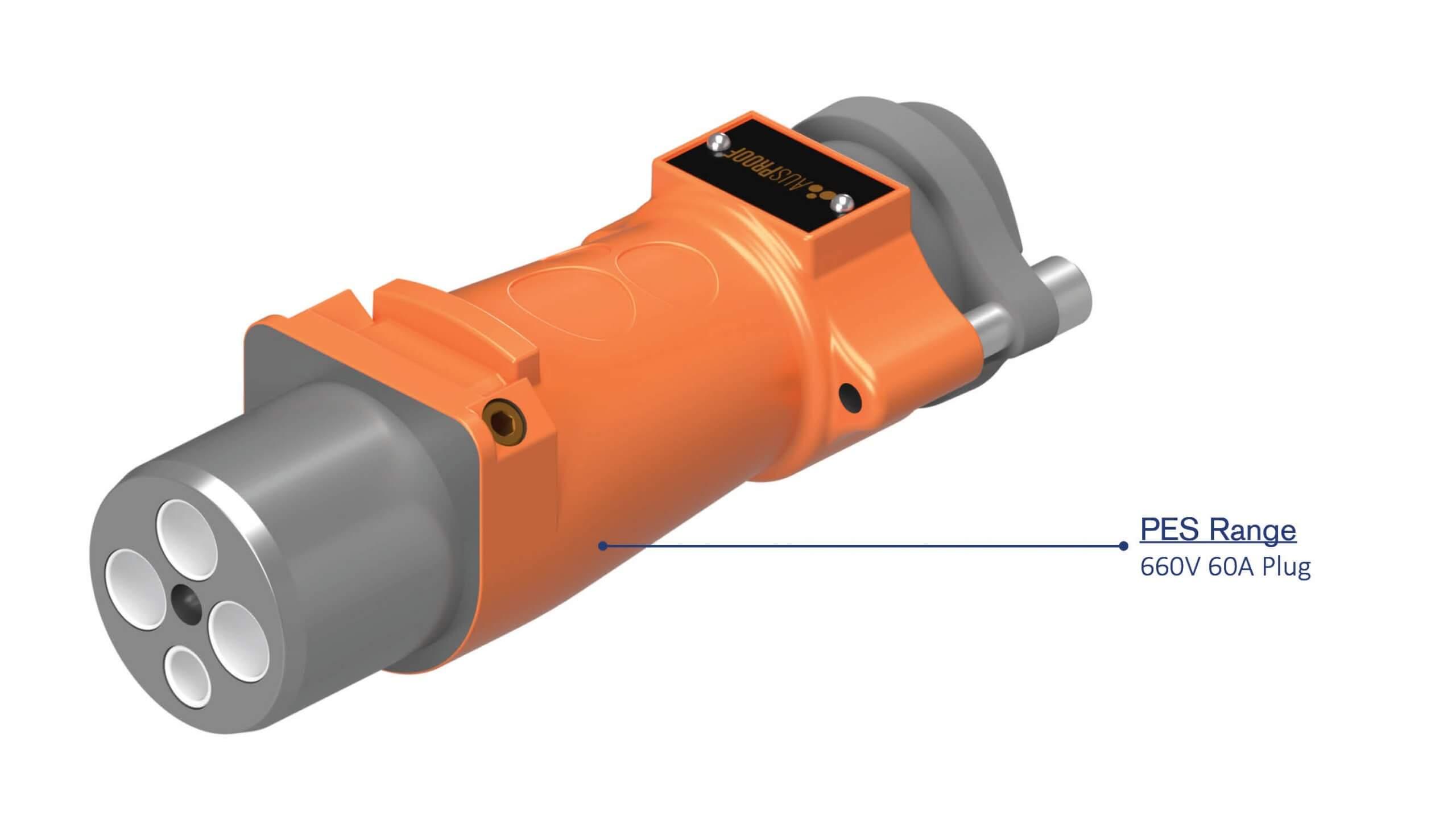 PES 660V 60A Plug