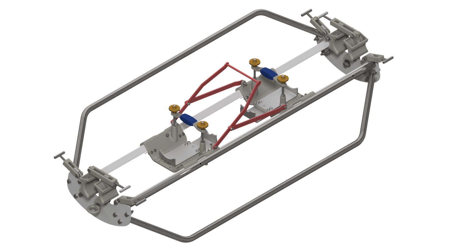 CAT Full Skid - With Plates Attached